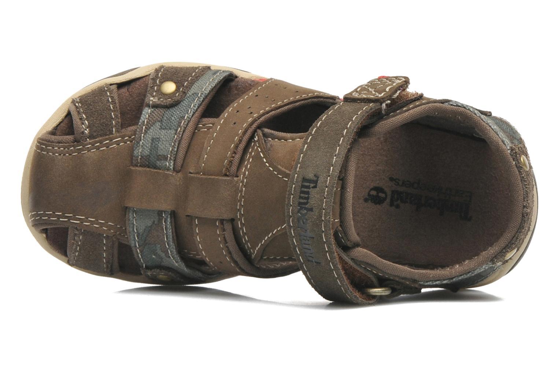 Sandales et nu-pieds Timberland PRKHPPREKL/FFSHMNGRG Marron vue gauche