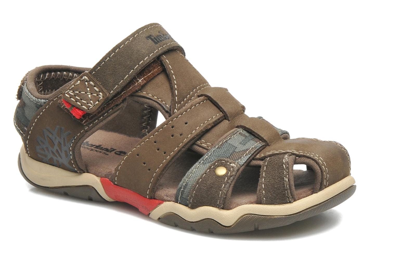 Sandales et nu-pieds Timberland PRKHPPREKL/FFSHMNGRG Marron vue détail/paire