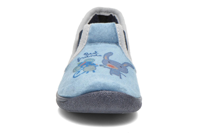 Chaussons Rondinaud DEFI Bleu vue portées chaussures
