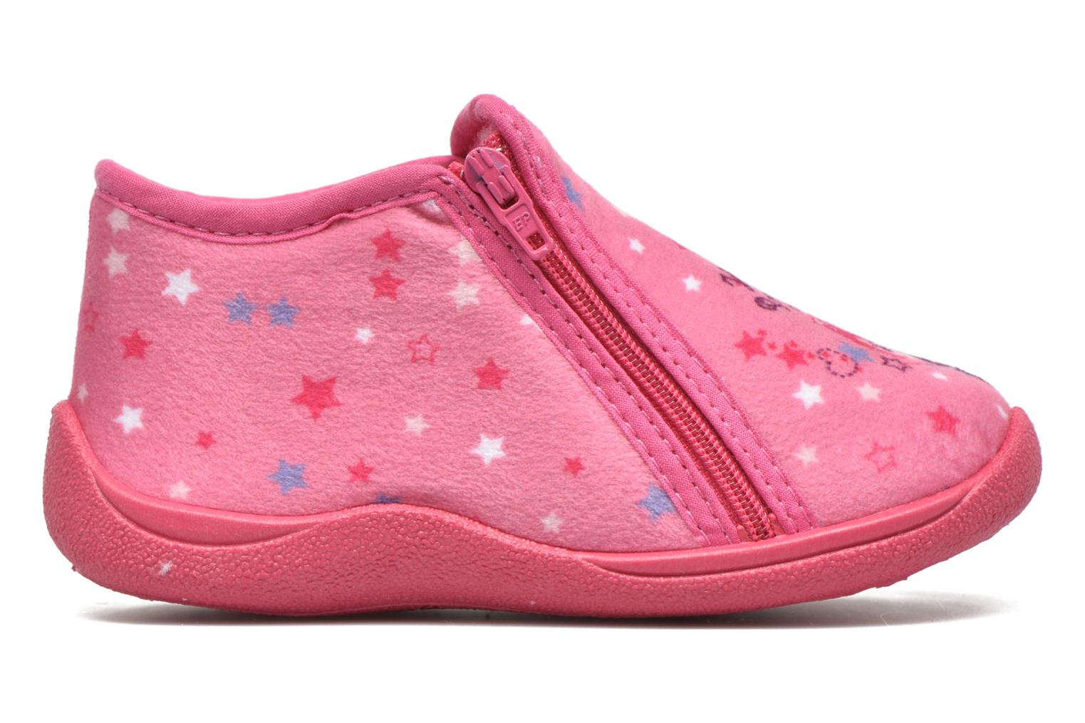 Chaussons Rondinaud GESSY Rose vue derrière