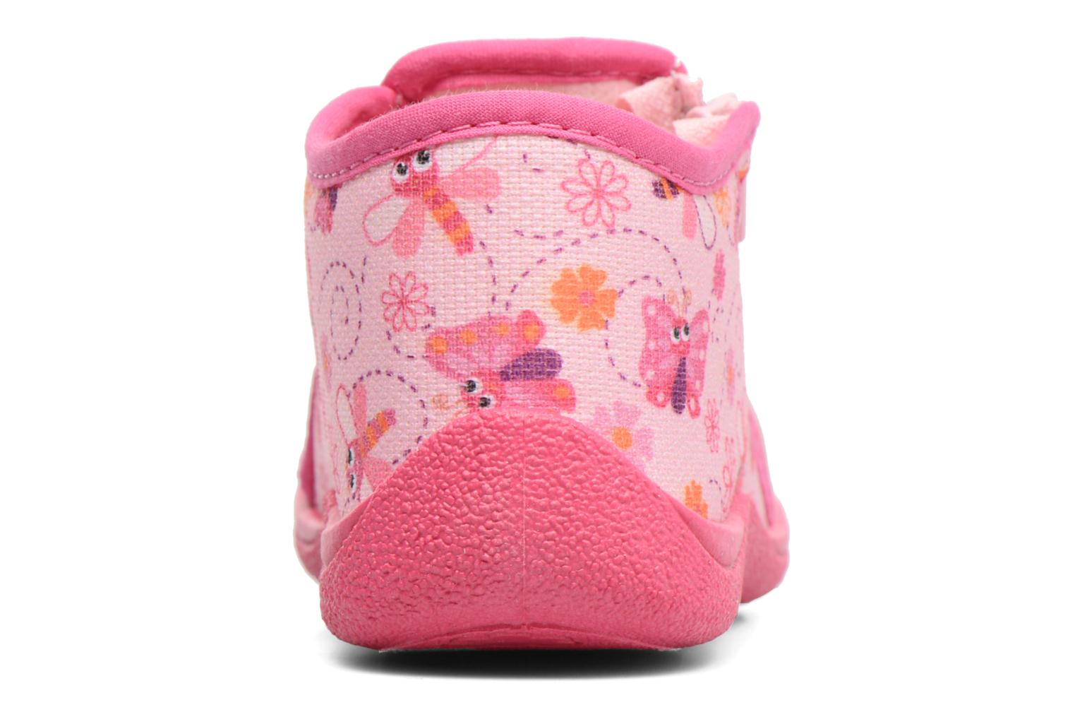 Slippers Rondinaud GESSY Pink view from the right