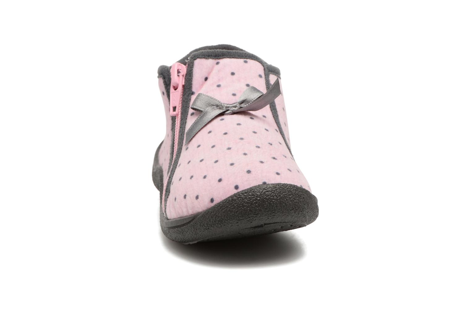 Slippers Rondinaud GESSY Pink model view