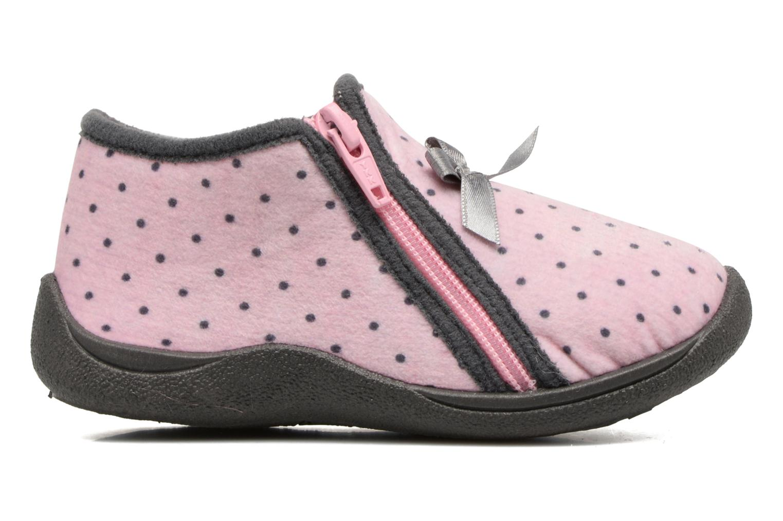 Slippers Rondinaud GESSY Pink back view
