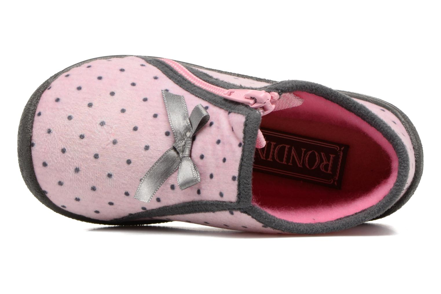Slippers Rondinaud GESSY Pink view from the left