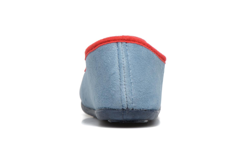 Chaussons Rondinaud JAVA Bleu vue droite