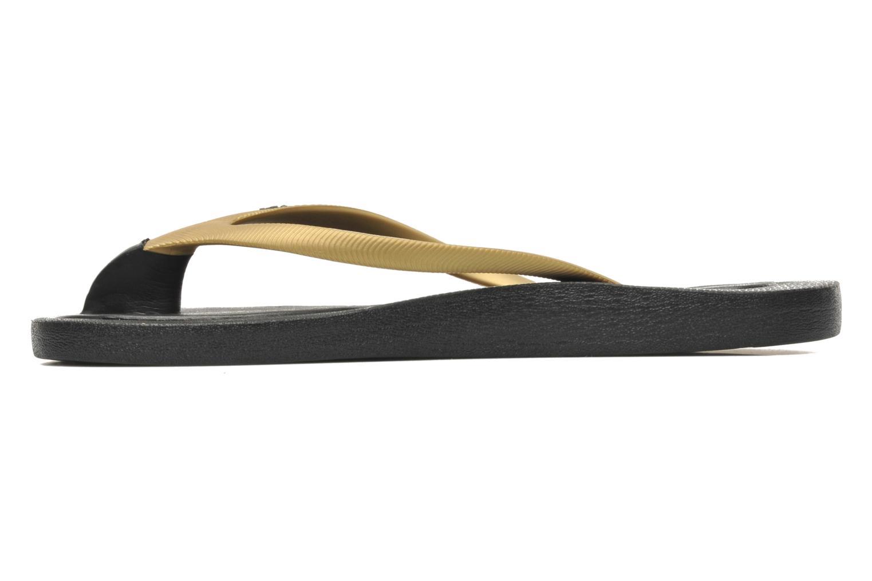 Zehensandalen Ozify Classic W gold/bronze ansicht von vorne