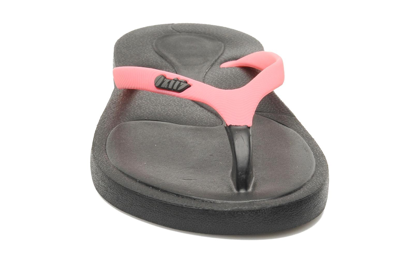 Tongs Ozify Fun Straps W Noir vue portées chaussures