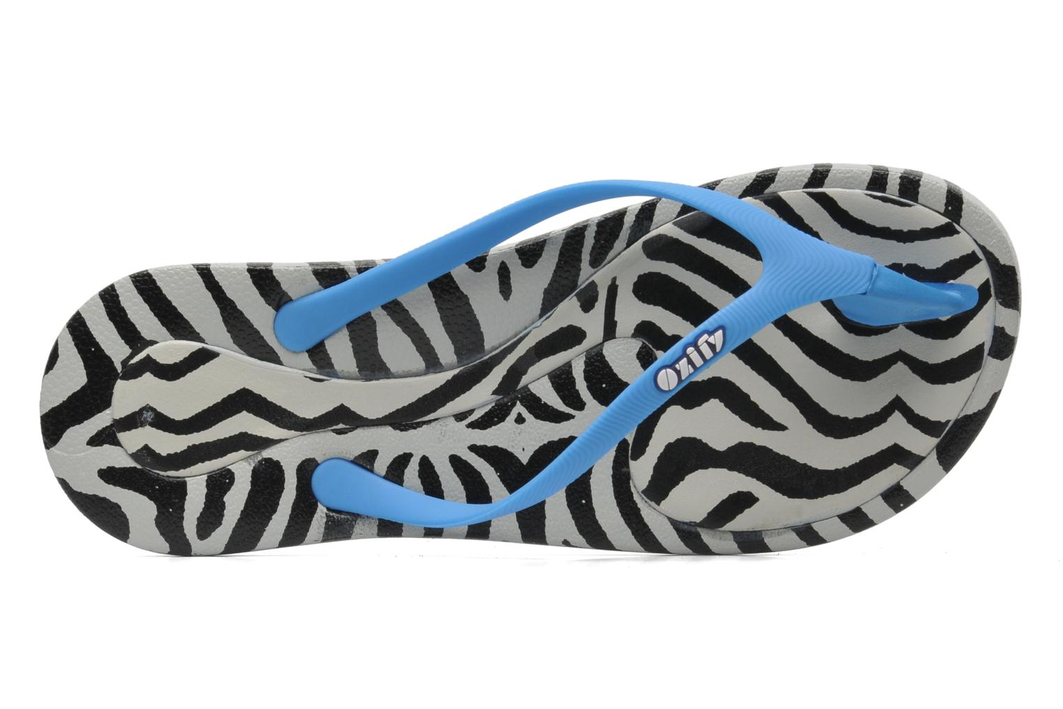 Slippers Ozify Prints W Blauw links