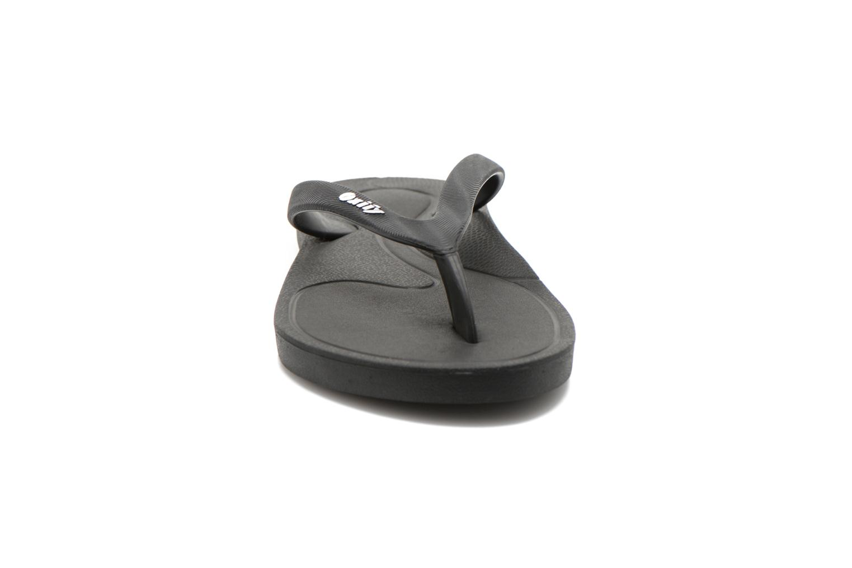 Zehensandalen Ozify Classic M schwarz schuhe getragen