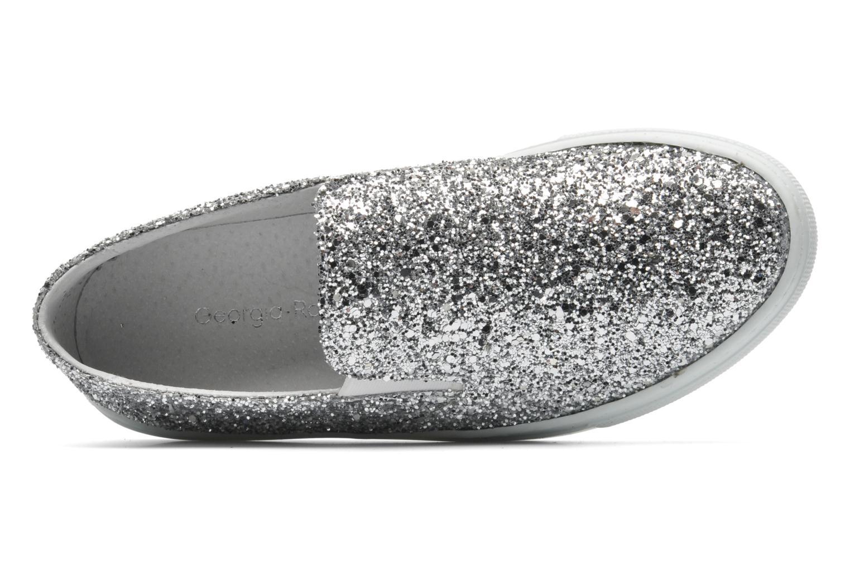 Sneaker Georgia Rose Periette silber ansicht von links