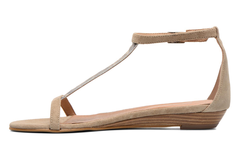 Sandales et nu-pieds Georgia Rose Lulab Beige vue face