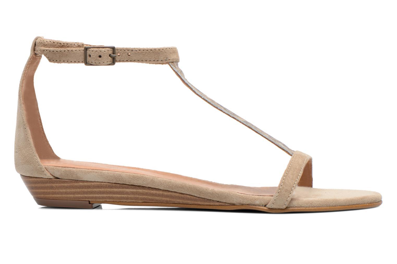 Sandales et nu-pieds Georgia Rose Lulab Beige vue derrière