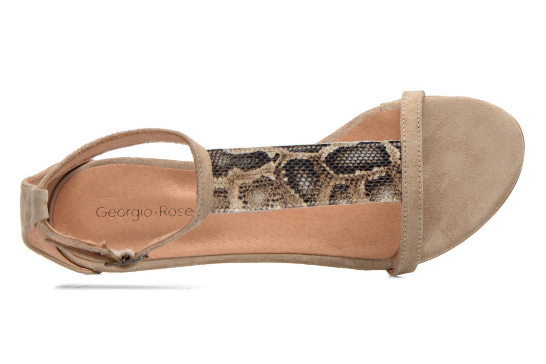 Sandales et nu-pieds Georgia Rose Lulab Beige vue gauche