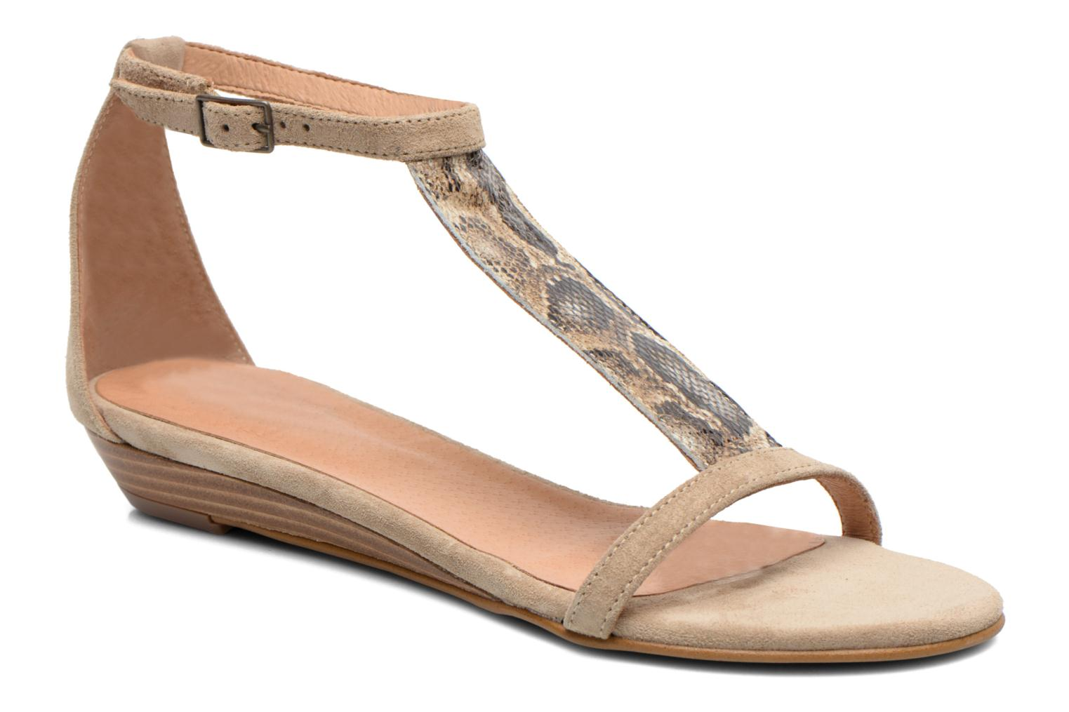 Sandals Georgia Rose Lulab Beige detailed view/ Pair view