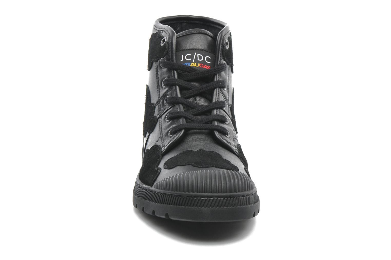 Baskets Pataugas Authentique JCDC Cloud Noir vue portées chaussures