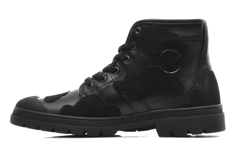 Sneakers Pataugas Authentique JCDC Cloud Zwart voorkant