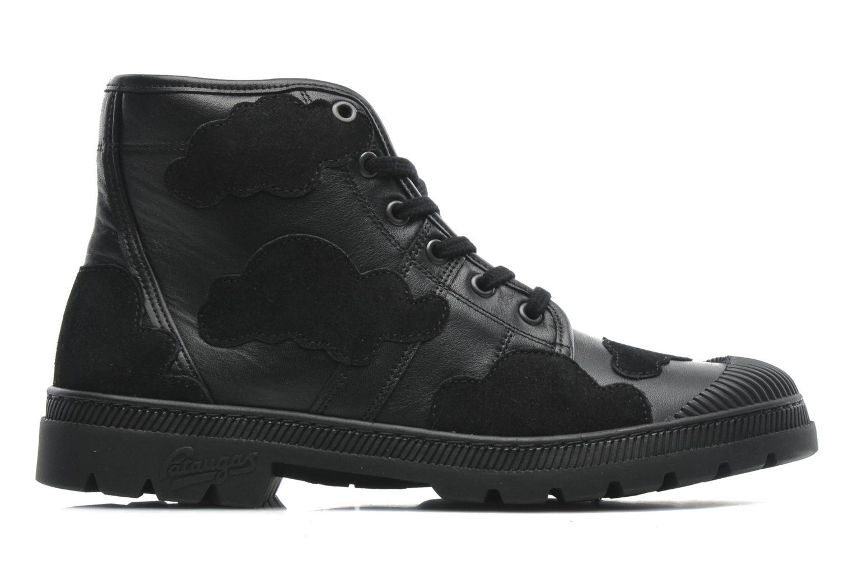 Sneakers Pataugas Authentique JCDC Cloud Zwart achterkant
