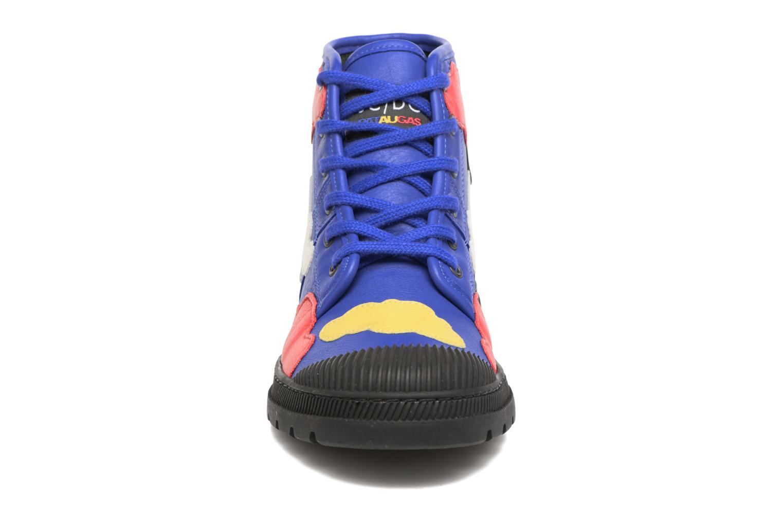 Baskets Pataugas Authentique JCDC Cloud Multicolore vue portées chaussures