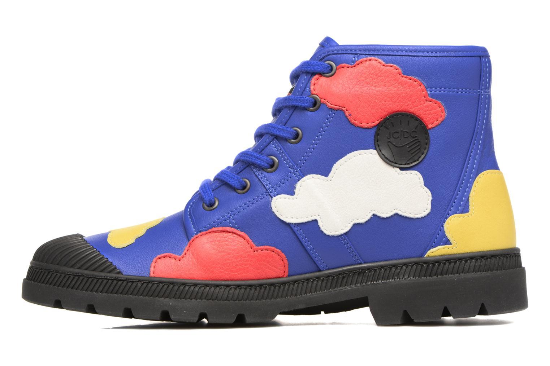 Baskets Pataugas Authentique JCDC Cloud Multicolore vue face