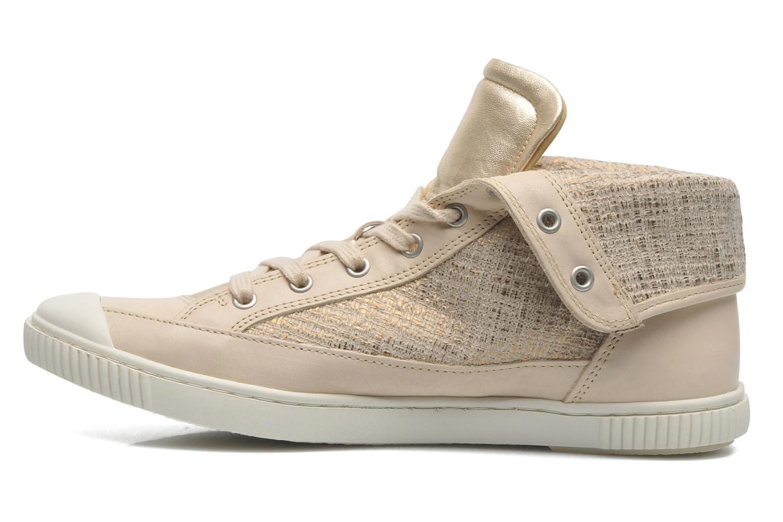 Sneaker Pataugas Bandit F gold/bronze ansicht von vorne