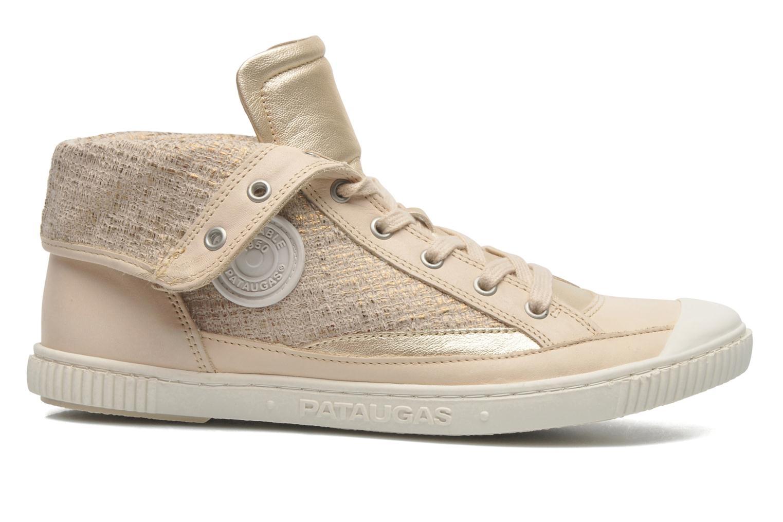 Sneaker Pataugas Bandit F gold/bronze ansicht von hinten
