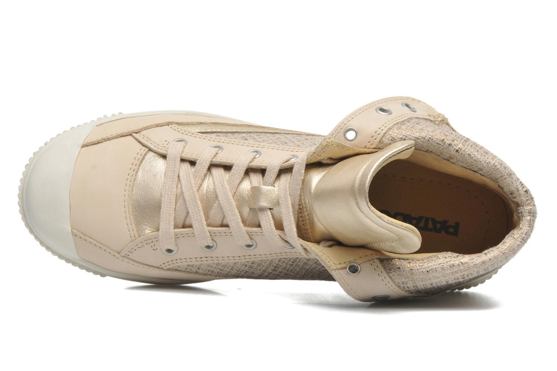 Sneaker Pataugas Bandit F gold/bronze ansicht von links