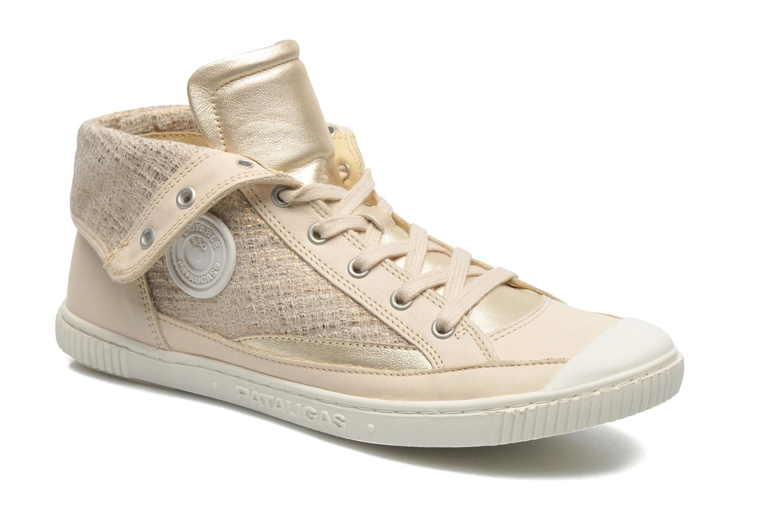 Sneakers Pataugas Bandit F Goud en brons detail