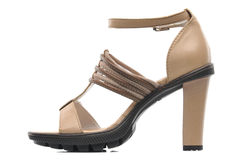 Sandales et nu-pieds Pataugas Faty/MC Beige vue face