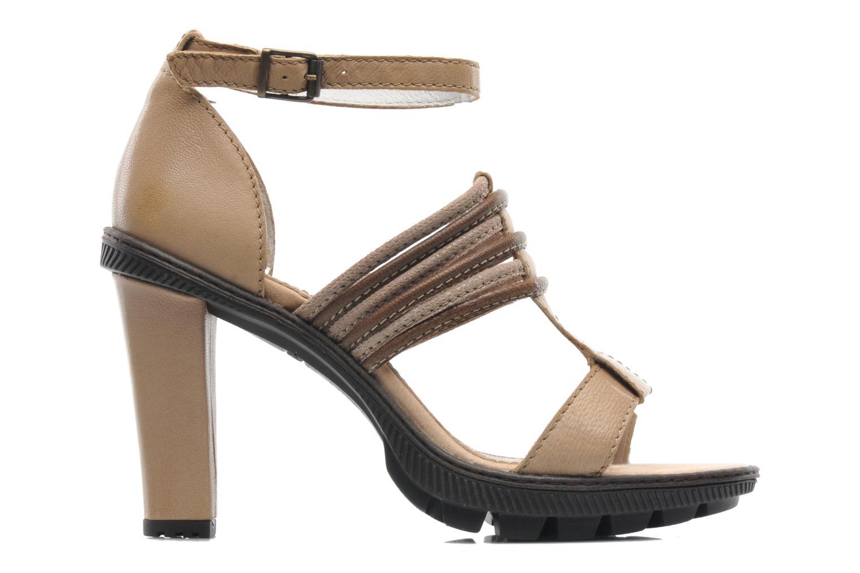 Sandales et nu-pieds Pataugas Faty/MC Beige vue derrière