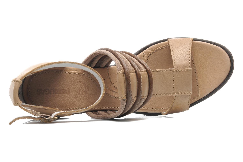 Sandales et nu-pieds Pataugas Faty/MC Beige vue gauche