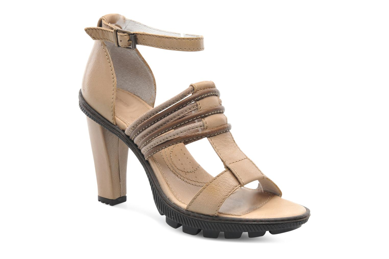 Sandales et nu-pieds Pataugas Faty/MC Beige vue détail/paire