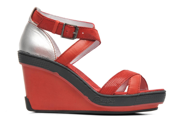 Sandales et nu-pieds Pataugas Gouy Rouge vue derrière