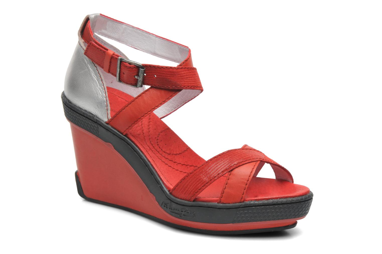 Sandales et nu-pieds Pataugas Gouy Rouge vue détail/paire