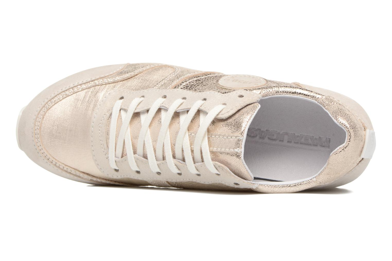 Sneaker Pataugas Idol/M gold/bronze ansicht von links