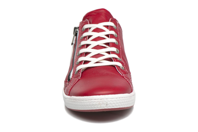 Baskets Pataugas JesterN Rouge vue portées chaussures