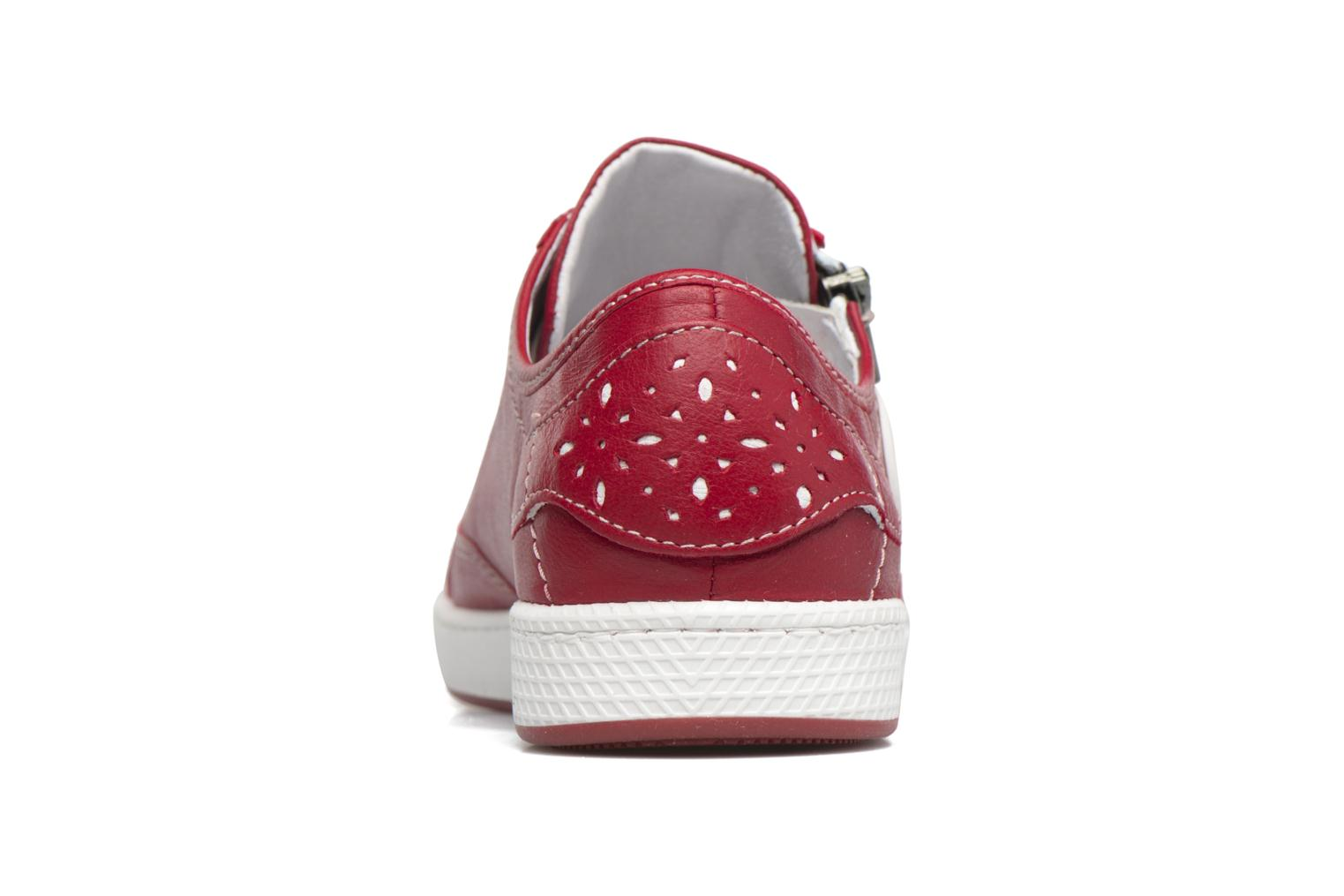 Trainers Pataugas JesterN Red view from the right