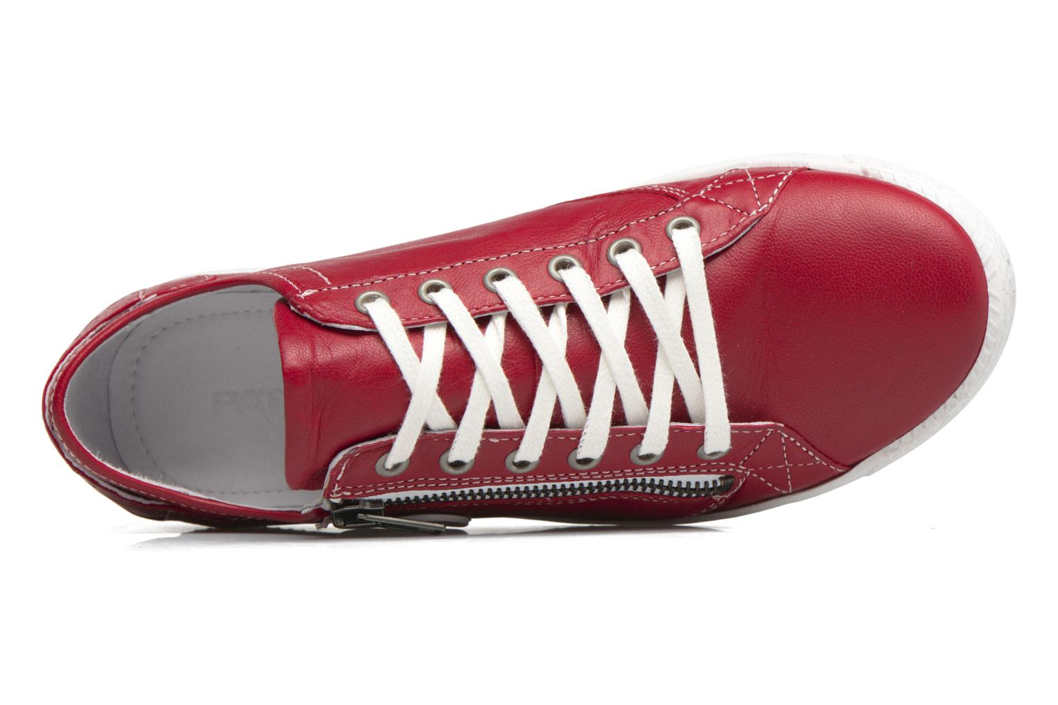 Trainers Pataugas JesterN Red view from the left