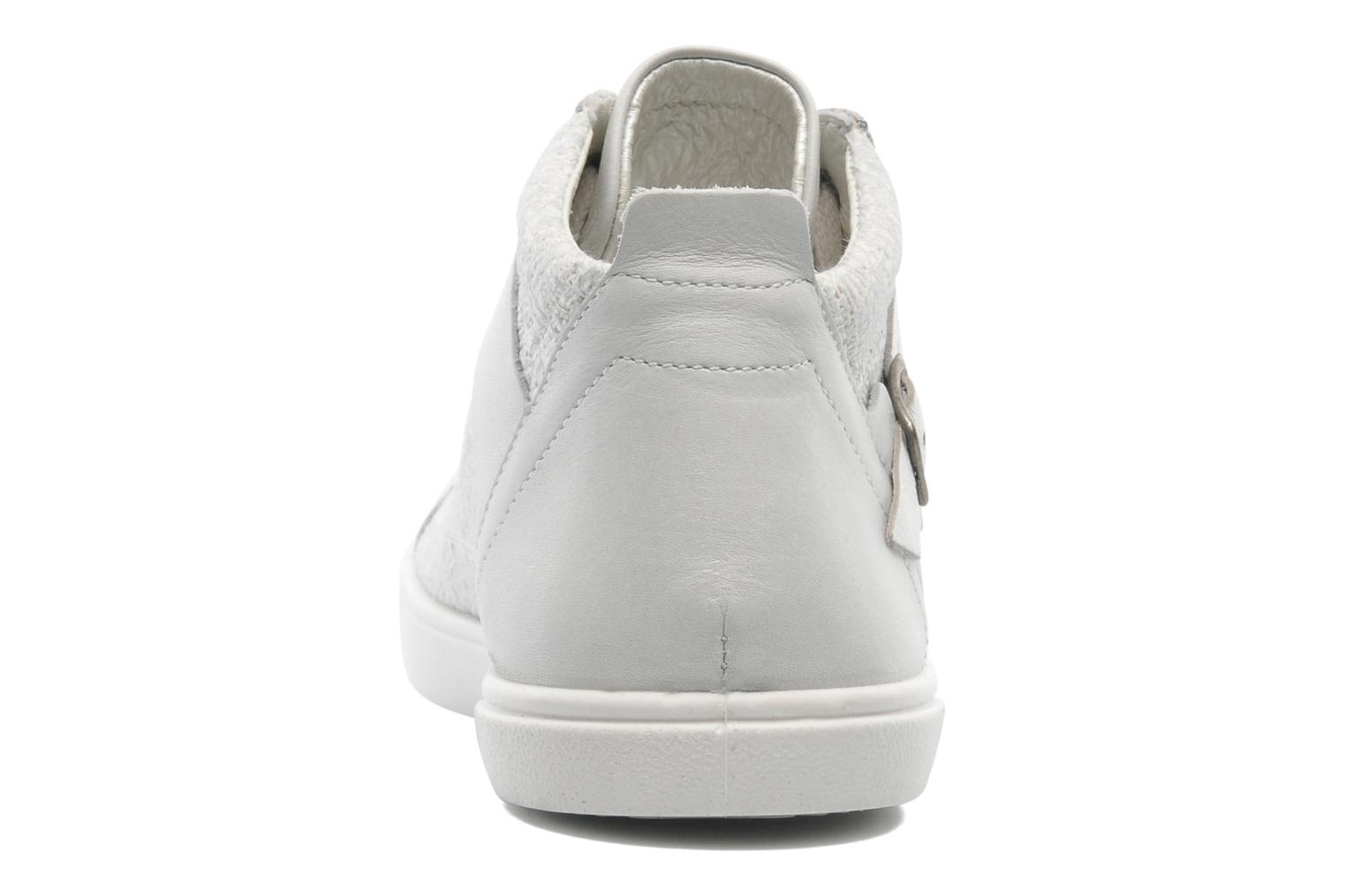Trainers Pataugas Loann Beige view from the right