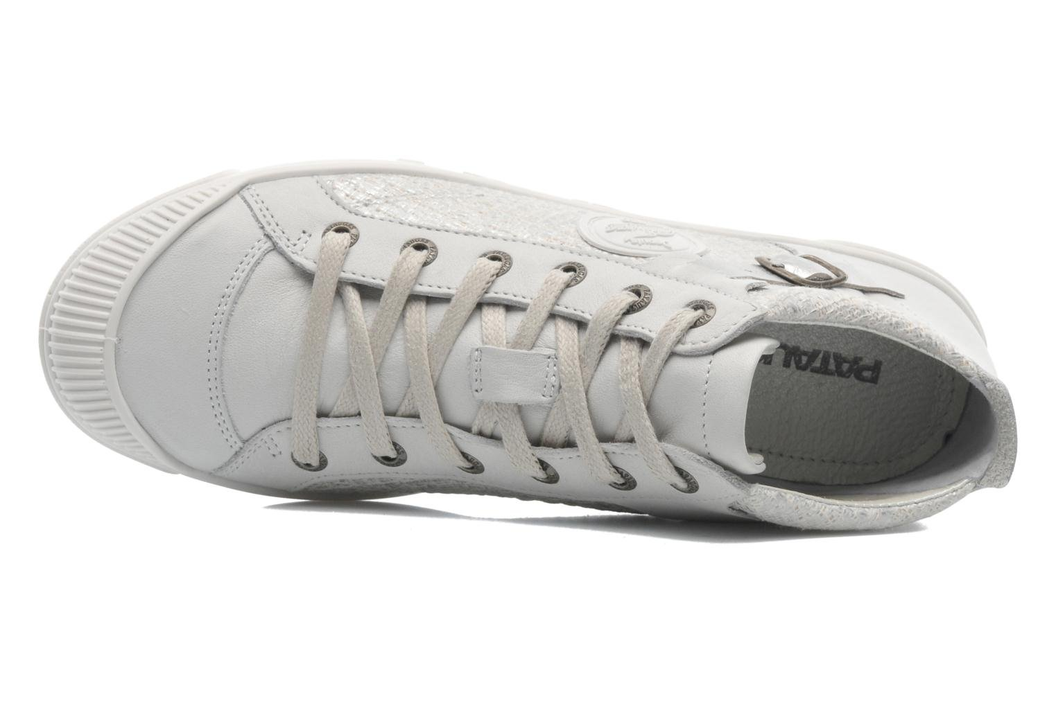 Trainers Pataugas Loann Beige view from the left