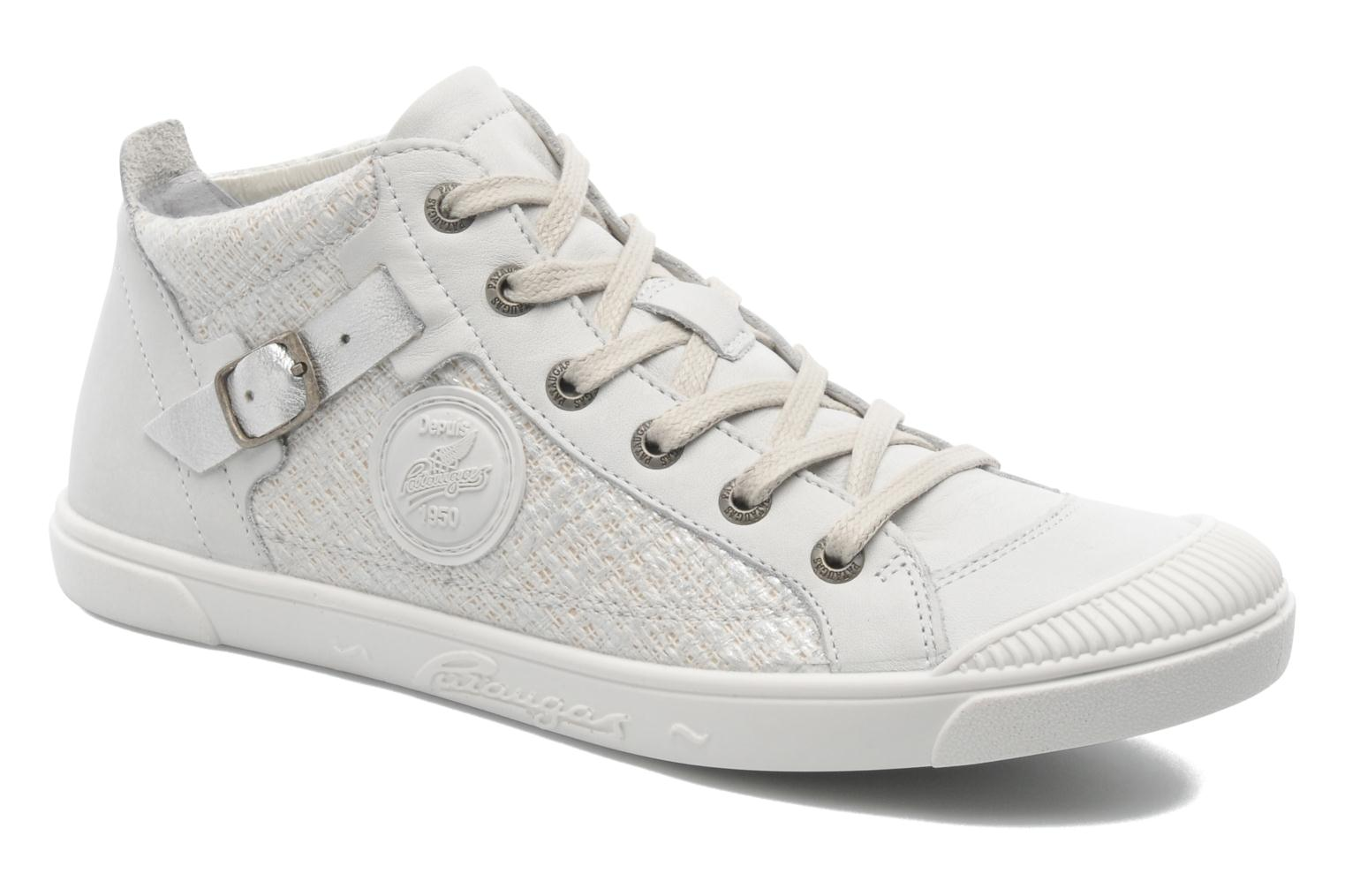 Trainers Pataugas Loann Beige detailed view/ Pair view