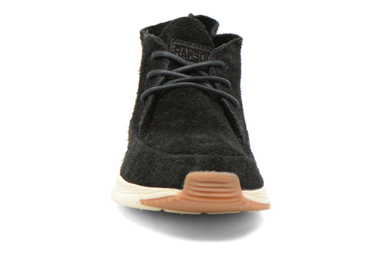 Baskets Ransom Alta Mid Noir vue portées chaussures