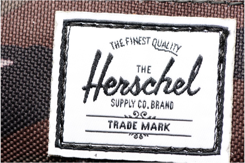 Scolaire Herschel Settlement Case Gris vue gauche