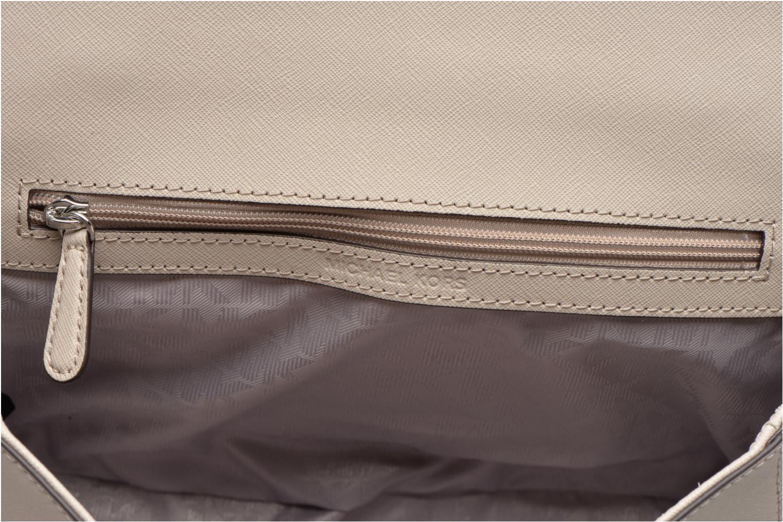 Handtassen Michael Michael Kors AVA MD TH Satchel Grijs achterkant