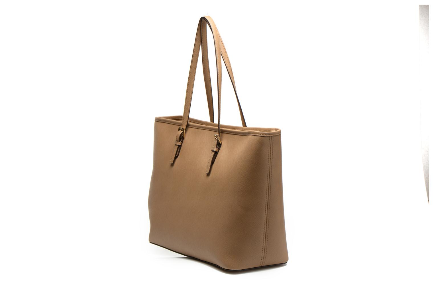 JET SET TRAVEL MD TZ Multi Tote Saffiano Dark khaki