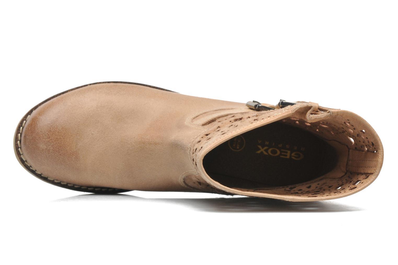 Bottines et boots Geox D New Virna B Beige vue gauche