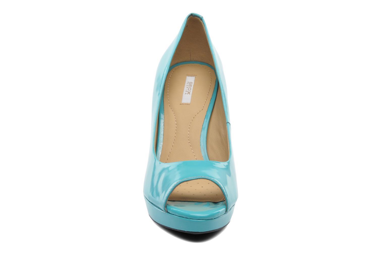 Escarpins Geox D New Egizia A D42L9A Bleu vue portées chaussures