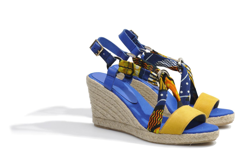 Sandales et nu-pieds Made by SARENZA Bamako #5 Multicolore vue derrière