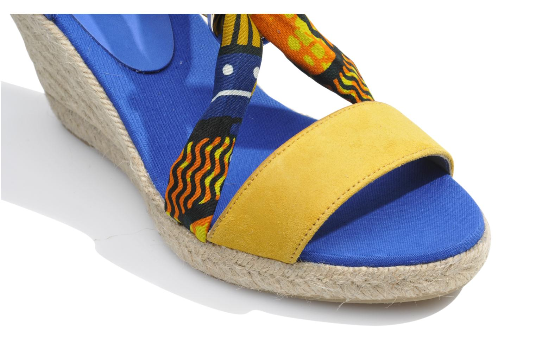 Sandales et nu-pieds Made by SARENZA Bamako #5 Multicolore vue haut