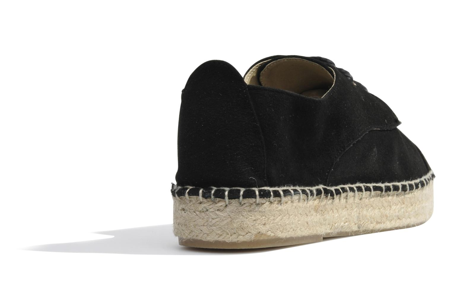 Espadrilles Made by SARENZA Cape Town #8 Noir vue face