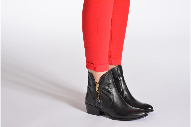 Stiefeletten & Boots Steve Madden Zipstr schwarz ansicht von unten / tasche getragen